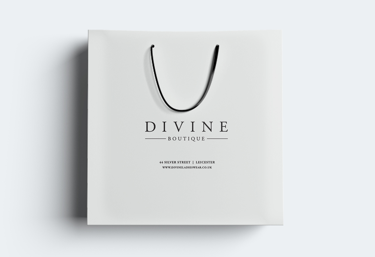 Divine shopping bag
