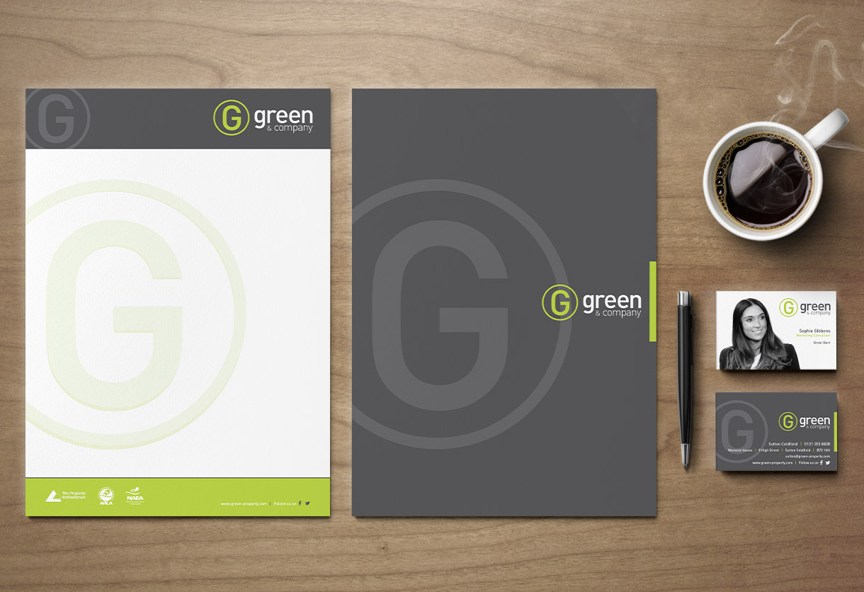 Green & Co Stationery Design & Print