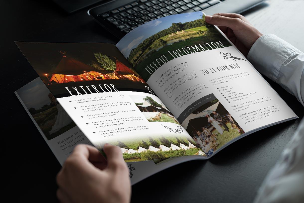 Hadsham brochure design & print