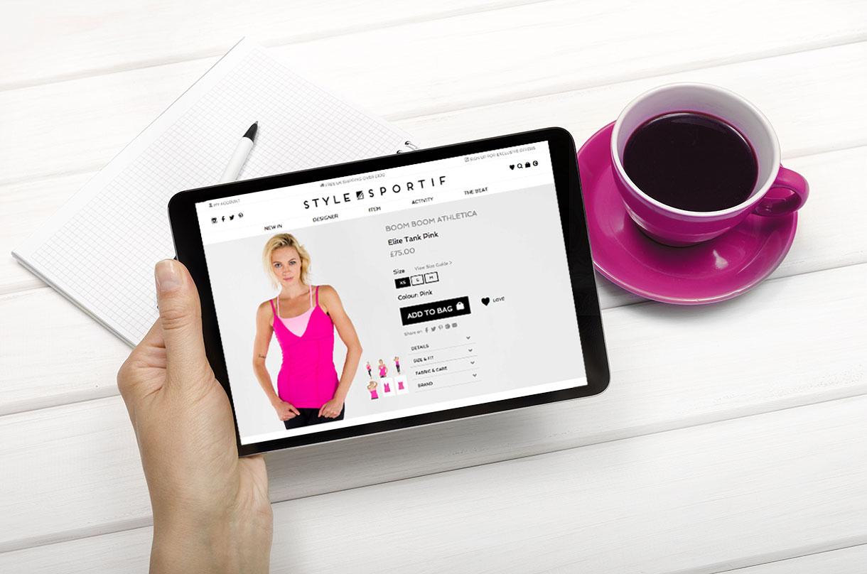 Style Sportif Website Design