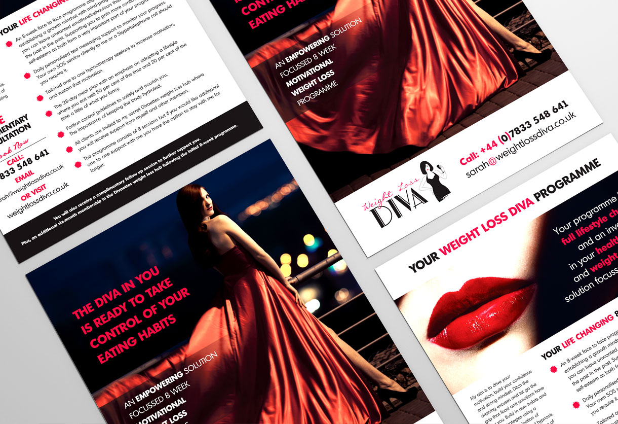 weight-loss-diva-flyer design & print
