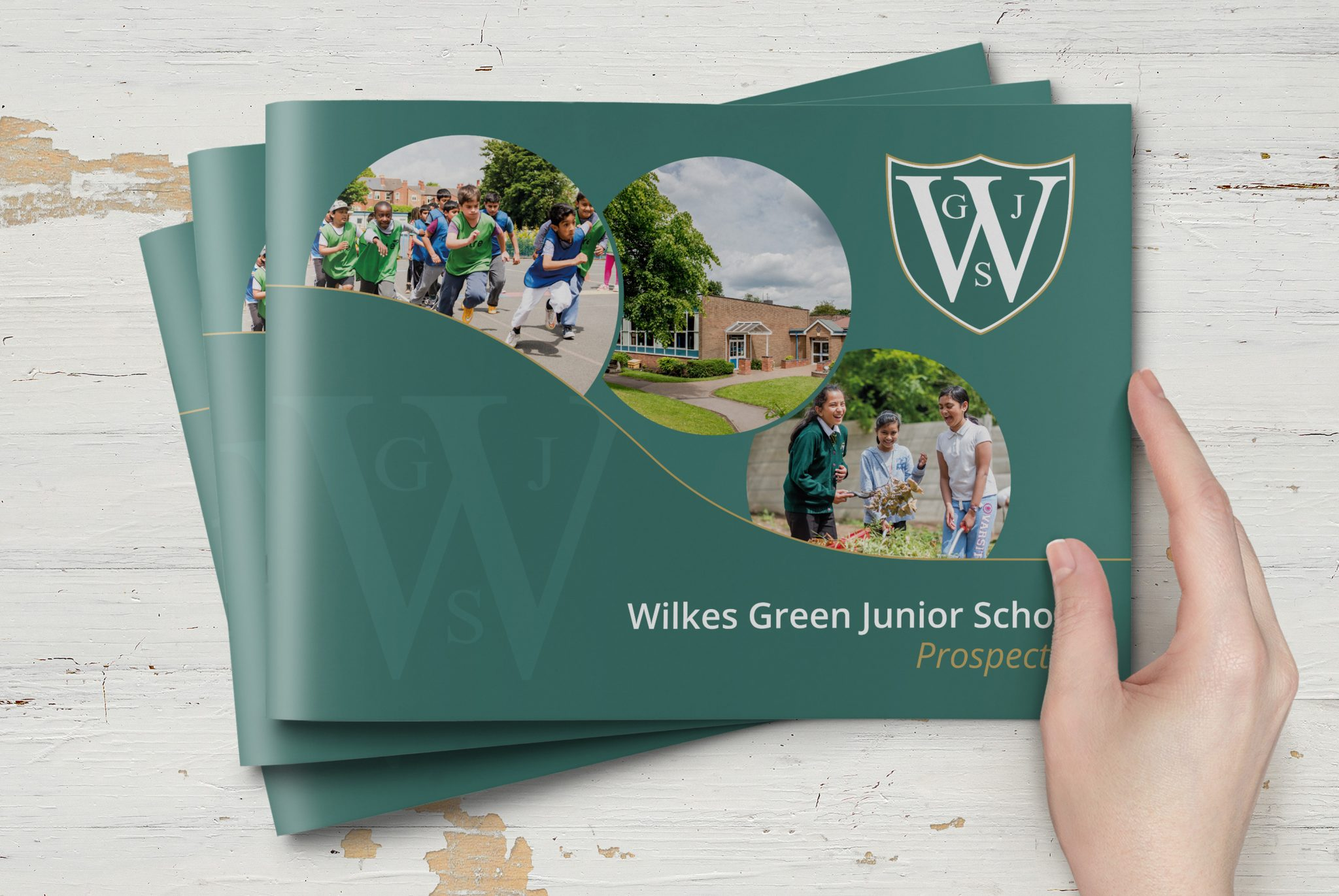 Wilkes Green Prospectus Design and Print