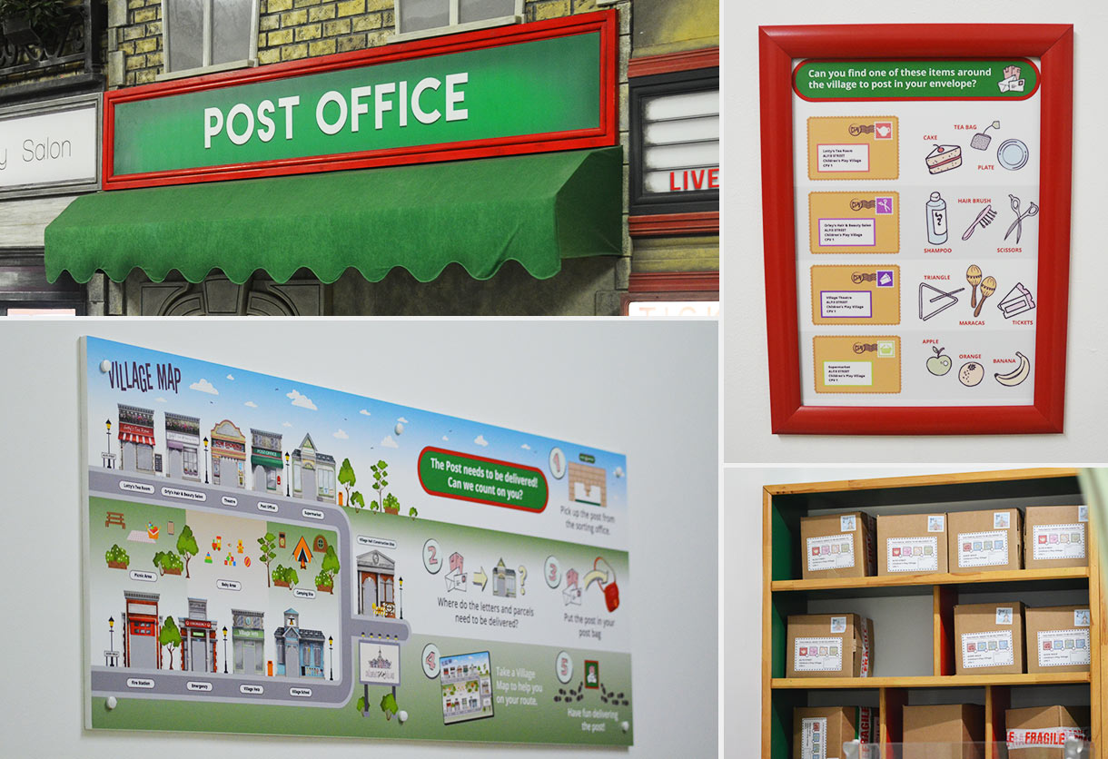 The Childrens Play Village Post Office designs