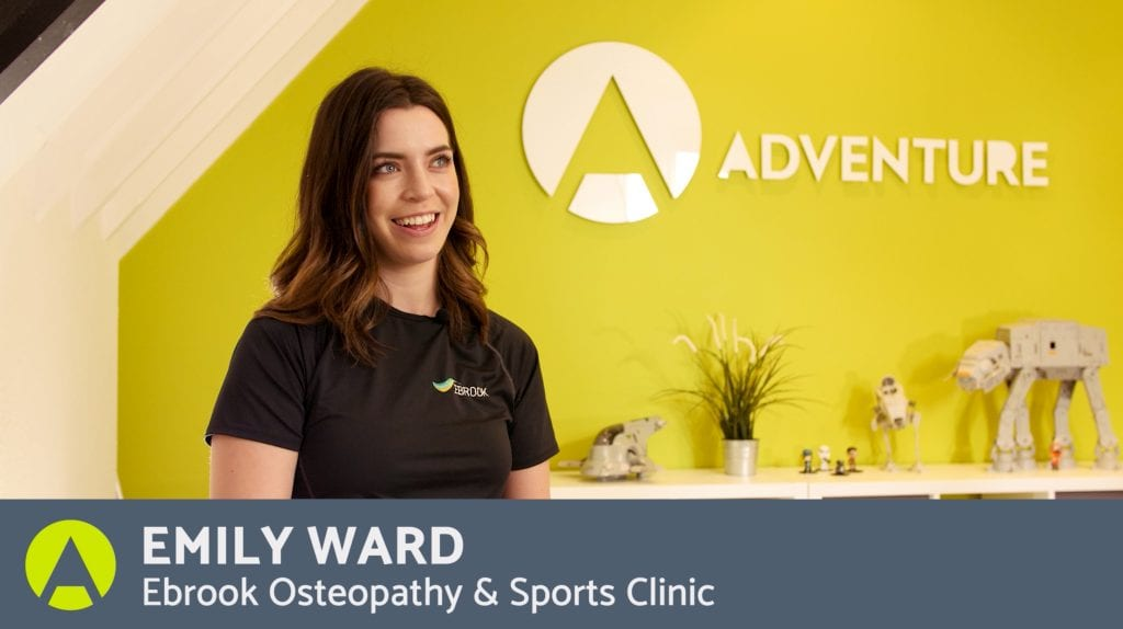 A Testimonial by Emily Ward Ebrook Osteopathy & Sports Clinic