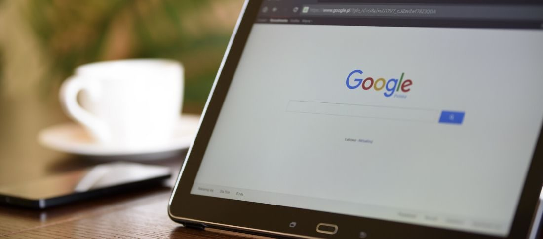 Google search new website